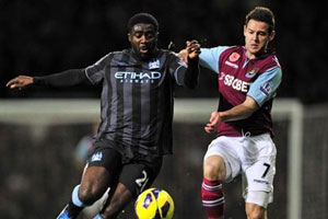 Matt Jarvis and Kolo Toure