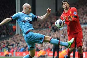 Liverpool vs West Ham 2013