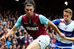 Andy Carroll, West Ham striker