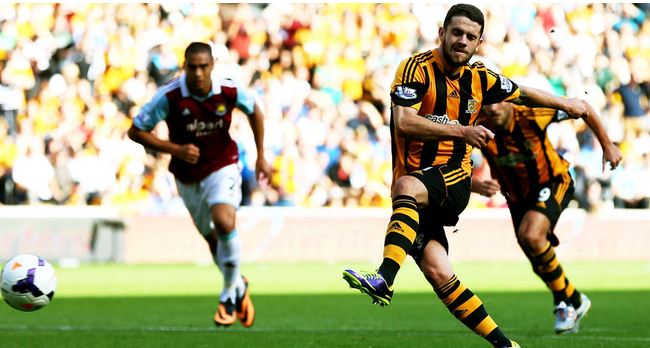 Hull City beating West Ham