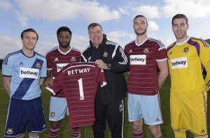 West Ham anounce Betway as new sponsor