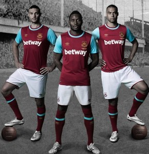 Full West Ham Umbro Kit 2015 16