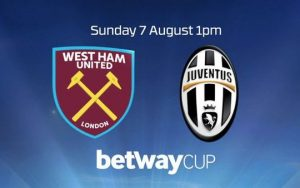 Betway Cup West Ham Juve