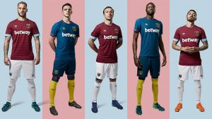 West Ham's new kit