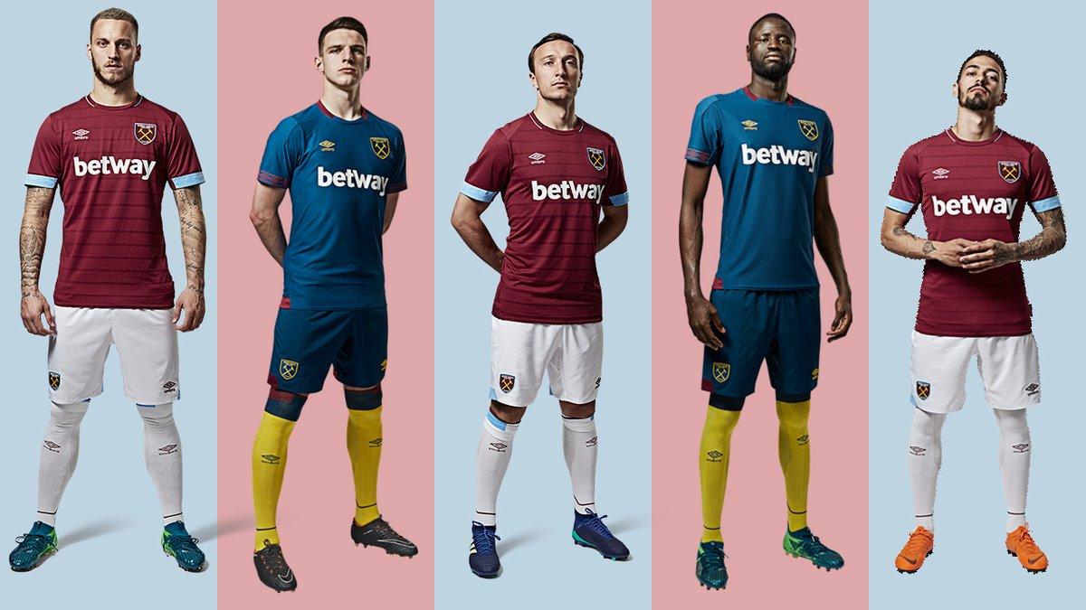 West Ham's new kit
