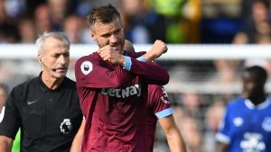 Everton 1-3 West Ham | 4-1-4-1 formation gives Pellegrini victory on 65th birthday