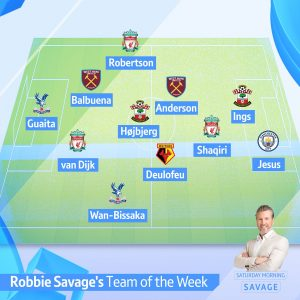 Round 17 Savage Team of the Week